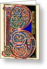 Beatus Greeting Card by Judy Dodds