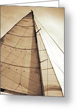 Beaufort Sails 1 Greeting Card