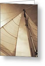 Beaufort Sails 2 Greeting Card
