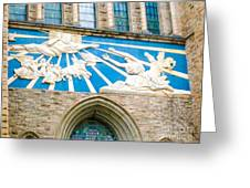 Beauiful Church Design In New York City Greeting Card