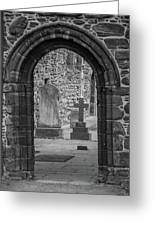 Beauly Priory Arch Greeting Card