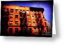 Beautiful Architecture Of New York - Ship Of State Greeting Card