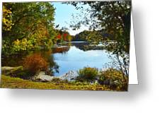 Willow Pond, Caleb Smith Preserve Greeting Card