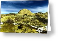 Beautiful Bisti Wilderness Greeting Card