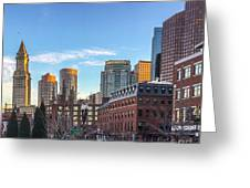 Beautiful Boston Greeting Card