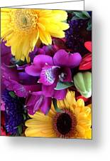 Beautiful Bouquet  Greeting Card