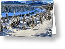 Beautiful Bow Valley Greeting Card