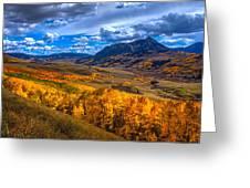 Beautiful Butte Greeting Card