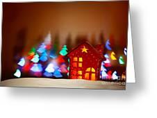 Beautiful Christmas Decor Greeting Card