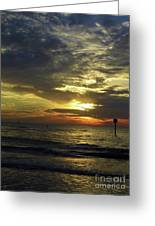 Beautiful Clearwater Sunset Greeting Card