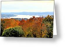 Beautiful Colors Of Autumn Landscape 2 Greeting Card