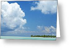 Beautiful Day In Tahiti Greeting Card