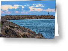 Beautiful Day Out Greeting Card