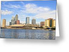 Beautiful Day Tampa Bay Greeting Card by David Lee Thompson