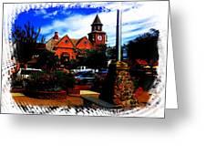 Beautiful Downtown Solvang Greeting Card