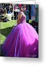 Beautiful Dress Make Up Dad Of Dead  Greeting Card