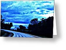 Beautiful Evening Skies Greeting Card