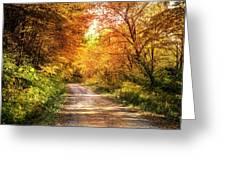 Beautiful Fall Day Greeting Card