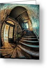 Beautiful Forgotten Staircase Greeting Card