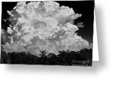 Beautiful Full Cloud Greeting Card