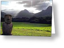 Beautiful Hawaii Greeting Card