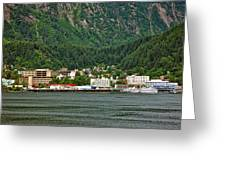 Beautiful Juneau Alaska Greeting Card