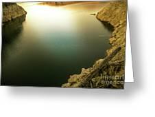 Beautiful Lake  Greeting Card