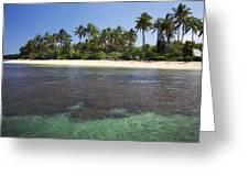 Beautiful Lanai Beach Greeting Card