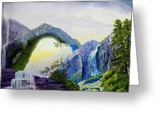 Beautiful Landscape Greeting Card