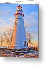 Beautiful Marblehead Lighthouse Greeting Card