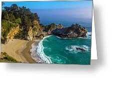 Beautiful Mcway Falls Cove Greeting Card