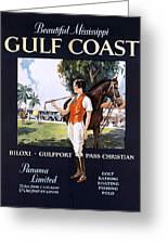 Beautiful Mississippi, Gulf Coast Greeting Card