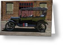 Beautiful Model T Touring Car Greeting Card