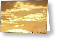Beautiful Morming Sky  Greeting Card