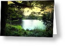 Beautiful Mountain Lake Greeting Card