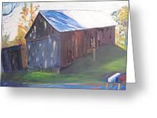 Beautiful Old Barn Greeting Card