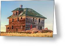 Beautiful Old House Greeting Card