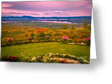 Beautiful Overview Of New Hampshire Greeting Card