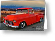 Beautiful Pick Up Truck Greeting Card