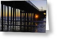 Beautiful Pismo Beach Sunset Greeting Card