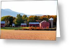 Beautiful Red Barn 4 Greeting Card