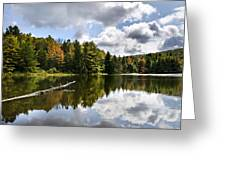 Beautiful Reflections Landscape Greeting Card