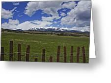 Beautiful Rocky Mountains Greeting Card