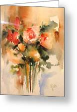Beautiful Roses Greeting Card