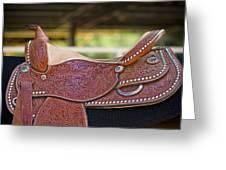 Beautiful Saddle Greeting Card