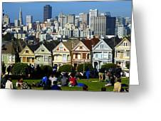 Beautiful San Francisco Greeting Card