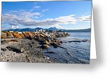 Beautiful Sea View Greeting Card