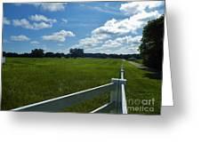 Beautiful Sky At The Farm Greeting Card