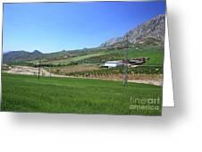 Beautiful Spanish Countryside Greeting Card