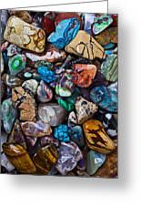 Beautiful Stones Greeting Card